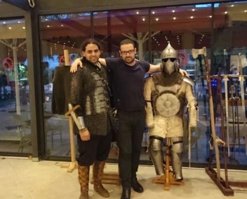 Geek Fest Avrasya 2017 - Toplu fotoğraf, Barış Bora, Burak, Zırh
