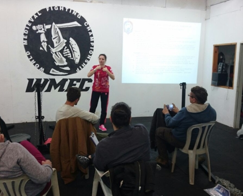 Maria Davydova İsrail IFMSF Semineri