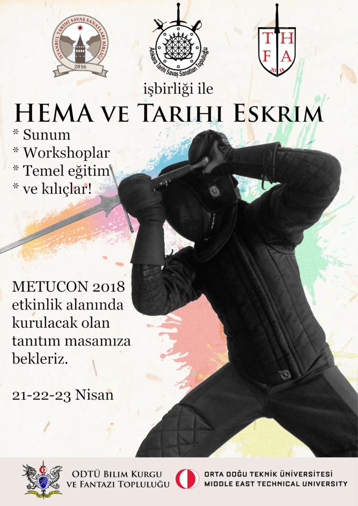 METUCON 2018 Afiş
