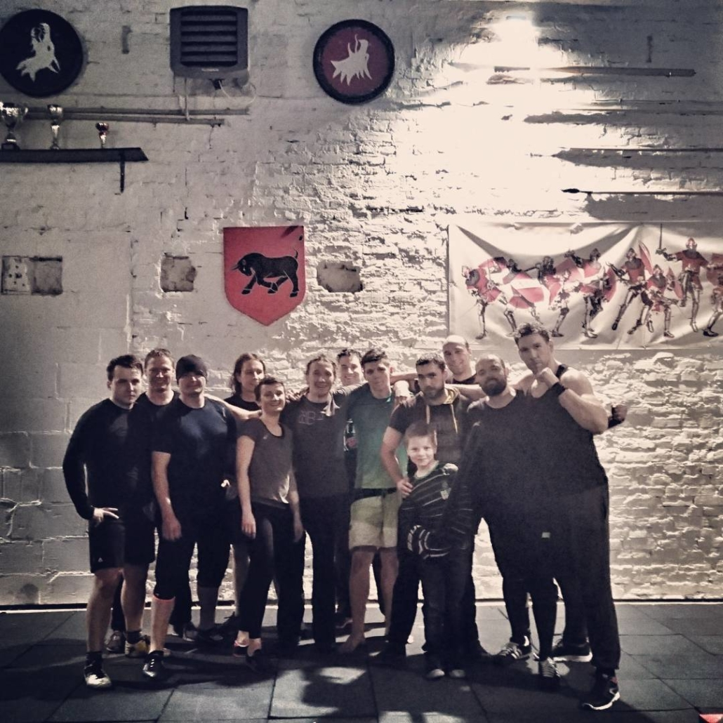 Polonya ekibiyle ortak çalışma toplu fotoğraf